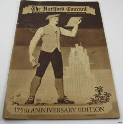 1939 Hartford Courant 175th Anniversary Edition Photos, Illustrations, Ads++