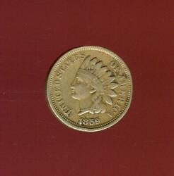 1859 Indian Head Cent | Very Fine | First Year Type Coin | Philadelphia | Cp2912