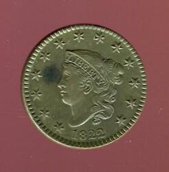 1822 Coronet Head Large Cent   Brilliant Uncirculated   Cp2756