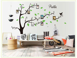 DIY Removable Wall Decal Family picture frame tree Sticker Home Room Decor