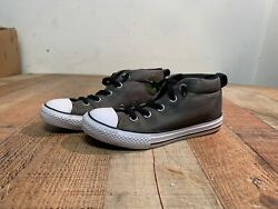 Converse Chuck Taylor All Star Kids CTAS MID #658649F Olive Green Shoes Size 2 $20.00