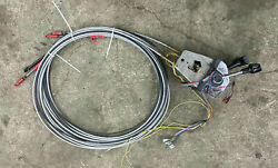Quicksilver Top Mount Dual Engine Trottle Assy With 20ft Cables