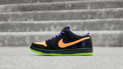 Nike Sb Dunk Low Night Of Mischief Halloween Size Available 6, 6.5, And 7