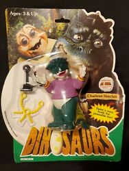 Vintage 1993 Dinosaurs The Tv Show Charlene Sinclair Figure New On Card Sealed