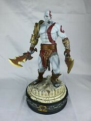 Sideshow Collectible God Of War Kratos Polystone Maquette- Exclusive Version