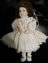 Grace C. Rockwell All Porcelain/bisque Doll 14 Made In Germany Vintage Rare