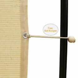 90 Shade Fabric Sunscreen Shade Panel With Grommets Pergola Cover Canopy6x16ft