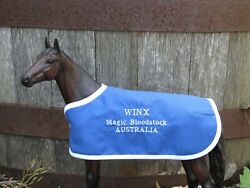 WINX Australia TB embroidered blanket Breyer thoroughbred race horse