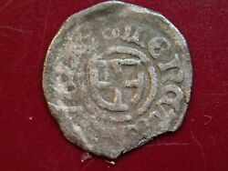 Antique 1400/1500-s Medieval Little Very Small Silver Coin Reval Tallinn