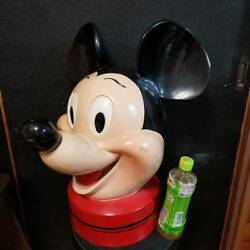 Mickey Mouse Rare Huge Head Doll U.s.a.store Fixture Display Vintage Disney Sign