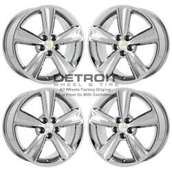 17 Chevrolet Cruze Pvd Bright Chrome-w 4 Wheels Rims Factory Oem 5522 2011...