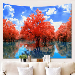 Tapestry Landscape Printed Large Wall Tapestries Scenery Hanging Art Decor