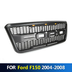 Front Bumper Hood Grille Conversion With Led Fits For F150 2004-2008