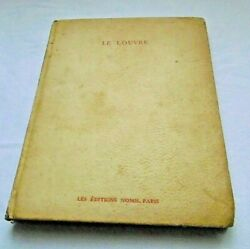 Antiques 1946 Le Louvre R. Huyghe Edition Nomis French And English Book