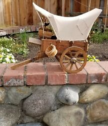 Covered Wagon Western Frontier Pioneer Decorative Accessory 20 Long