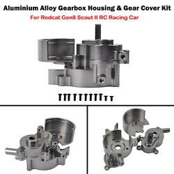 Rer11401 Gearbox Housing And Gear Cover Kit For Redcat Gen8 Scout Ii Rc Racing Car