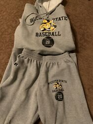 Wichita State Shockers Baseball Under Armour Hoodie Pants Team Issued Xl 28