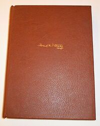 Frank D. Fortney - Book Of Letters Honoring The Great Bookbinder
