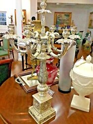 Silver Plated Candelabra European Style
