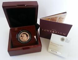 2017 Proof Sovereign - 200th Anniversary With Coa - Just 1 In Stock