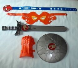 Thundercats Sword Of Omens Battle Gear Dress Up Lion-o Mask Claw Sword Shield