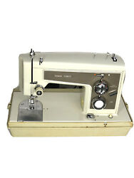 Vintage Sears Kenmore Sewing Machine 158 14300 With Model 6813 Pedal And Case