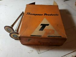 2 Nos S-2090 Exhaust Valves 1954 Chevy Power Glide 235 Thompson Products