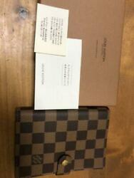 Louis Vuitton Damier Notebook Cover m47107339979 Pre-owned From Japan