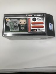 Ghostbusters Dr. Peter Venkman Pop And Xl T-shirt Funko 2019 Sdcc Exclusive