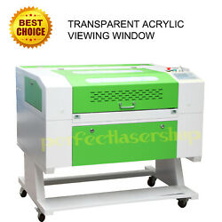 Reci 100w Co2 Laser Engraving Cutting Machine 700500mm With Motorized Cw3000