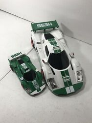 2009 Hess Toy Truck Race Car And Mini Racer Without Box All Working Lights And Sound