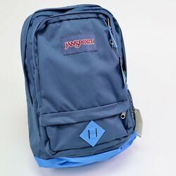 New Blue All Purpose Backpack Jansport 15quot; Laptop Sleeve $34.43