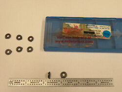 Millstar Rb-0375-sf Carbide Inserts, 8 Pcs, Made In Usa