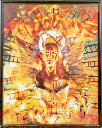 Toad The Wet Sprocket Band-signed Fear Album Art Poster/photo, Hans Neleman