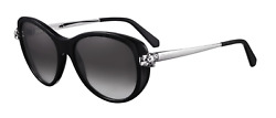 Cartier Women Sunglasses CT0060S-001-PANTHERE Black  Grey Lenses