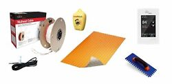 Nuheat Radiant Floor Heating Kit 240 Volt With Duo Membrane And Prog Thermostat