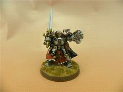 Warhammer 40k Painted Grey Knights Brother Captain Stern