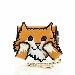 Louis Vuitton Cat Card Case Limited Edition Grace Coddington Epi Leather