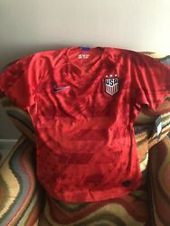 Nike Alex Morgan Usa National Team Red Soccer Jersey Nwt Size M Womens
