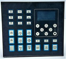 Norisys 4 Mp-12l12b-ad00 Master Control And Display Panel 12iamps / 12buttons