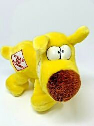 Vtg 1989 Plush 24k Mother Goose And Grimm Yellow Dog Grimmy Fleas On Board 8