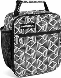 Adult Lunch Box Insulated Bag Cooler Tote Bag for Men Women Tribal Diamonds $24.99