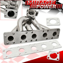 For Audi S2 S4 Rs2 2.2l K26 Stock Flange Turbo Exhaust Manifold Stainless Steel