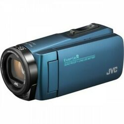 Free Shipping Jvckenwood Jvc Camcorder Everio R 32gb Navy Blue Japan Import