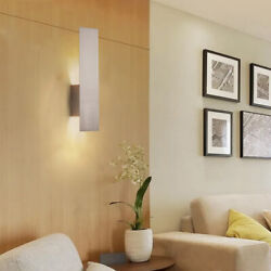 Decorative Wall Sconce With Frosted Glass Diffuser Dimension W5 X H20 X E3.5 In