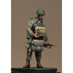 Soldier Of The 1st Paratrooper Battalion Painted Tin Toy Soldier Pre Sale   Art