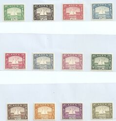 Shh 444 Aden - Complete Collection As Scan Mostly 94 Mnh Gbp 1800.00