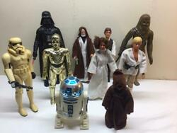 9 - 1977 Star Wars 12 - 15 Kenner Action Figures W/all Accessories Minty Set