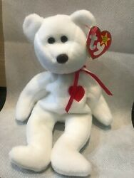 Valentio Beanie Baby 1993 With Tag Errors And Brown Nose