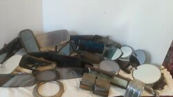 Vintage Antique Car And Truck Mirrors Ashtray Etc. Lot Hot Rod